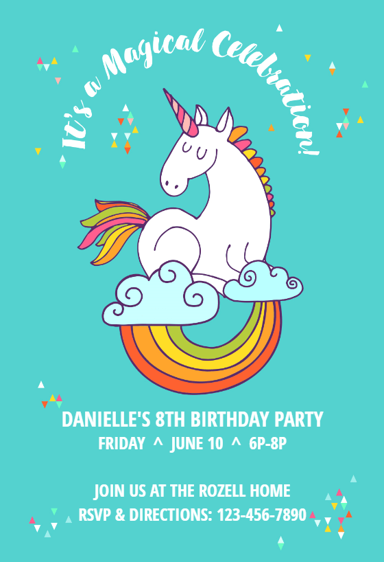 2nd birthday party invites