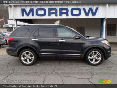 Tuxedo Black Metallic - 2011 Ford Explorer Limited 4WD - Charcoal Black Interior | GTCarLot.com ...