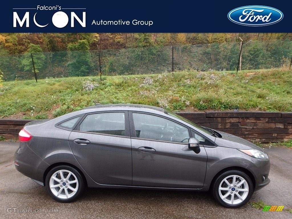 Ford Fiesta Magnetic 2015 Magnetic Metallic Ford Fiesta Se Sedan 116665557