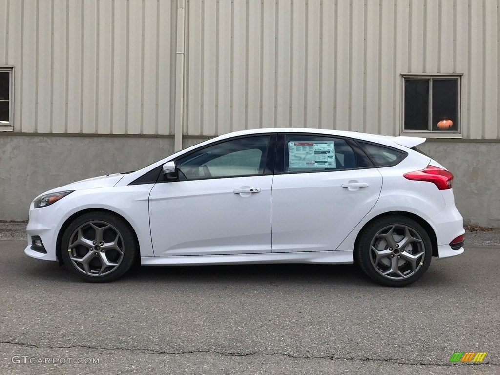 Ford Focus St White 2017 Oxford White Ford Focus St Hatch 119111729