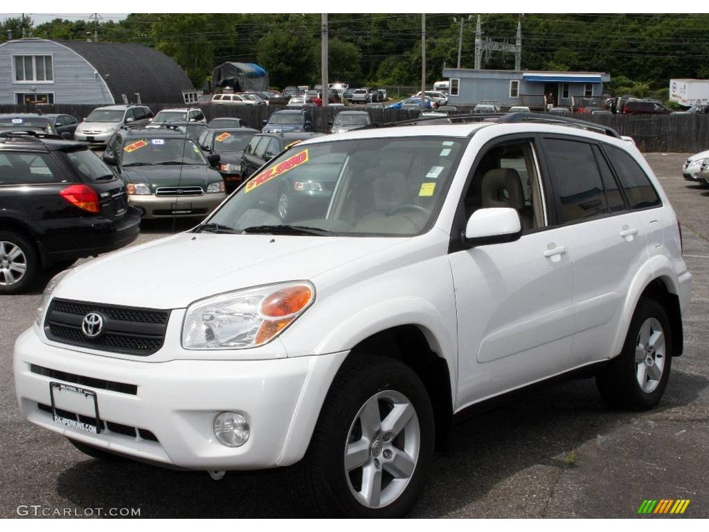 Interieur Toyota Rav4 2004 2004 Super White Toyota Rav4 4wd 12030564 Photo 8