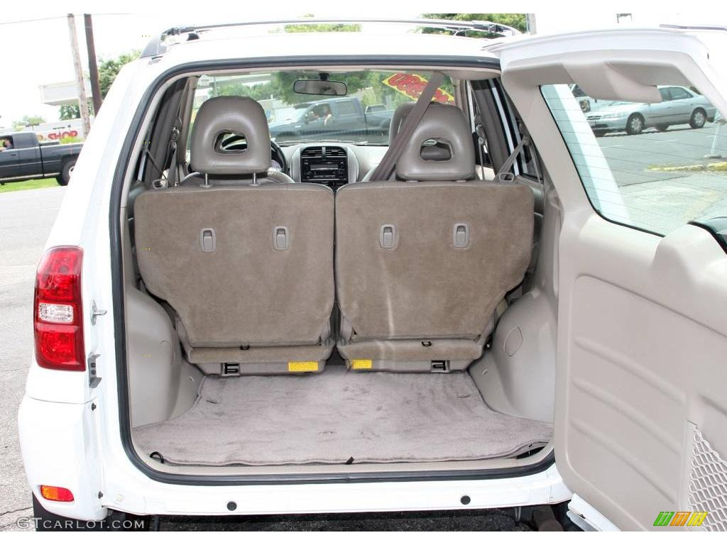 Interieur Toyota Rav4 2004 2004 Super White Toyota Rav4 4wd 12030564 Photo 7