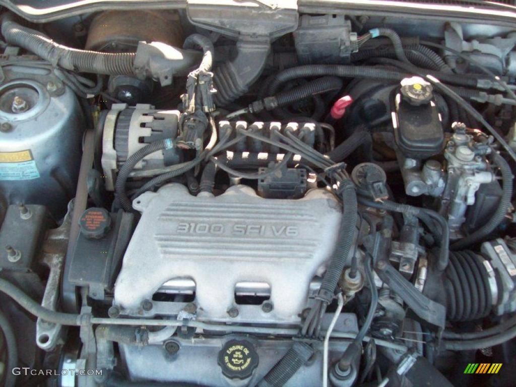 1992 chevy corsica Motor diagram