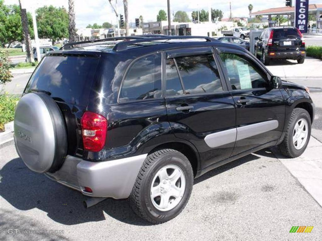 Interieur Toyota Rav4 2004 Black 2004 Toyota Rav4 Standard Rav4 Model Exterior Photo