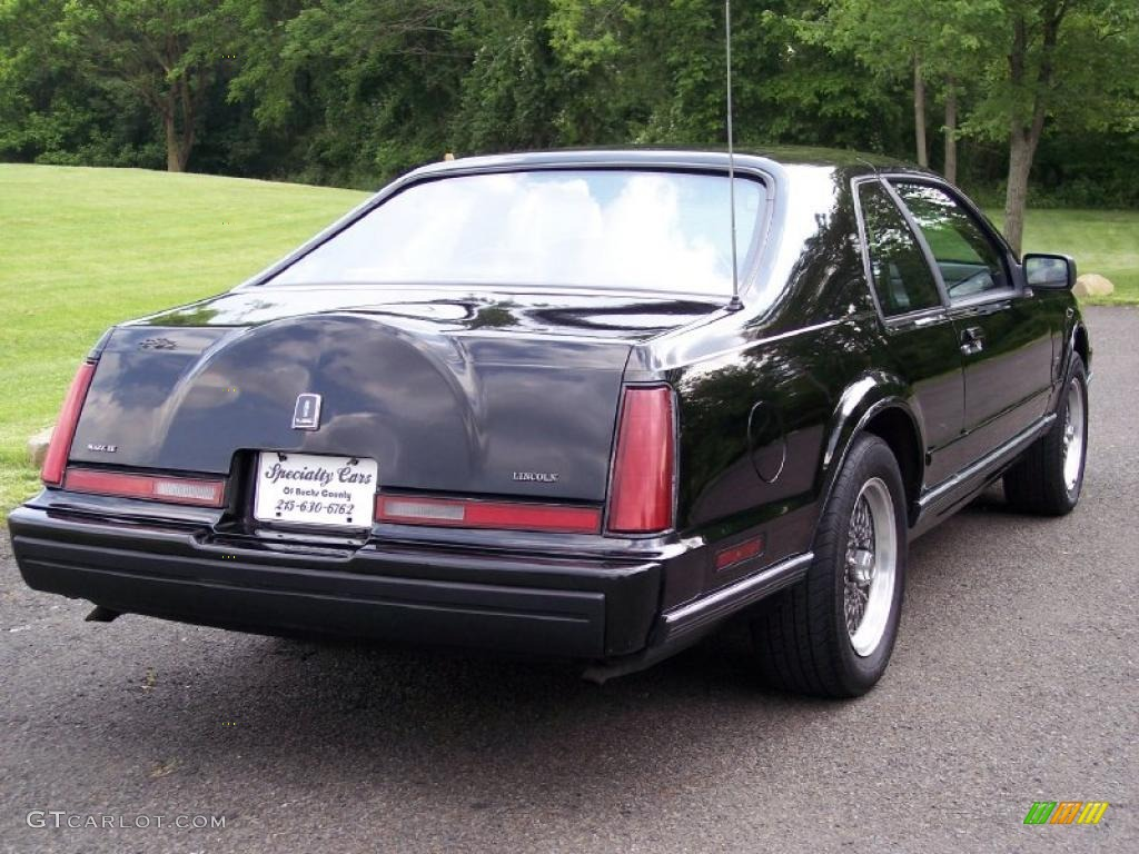 Lsc 1992 Black Lincoln Mark Vii Lsc #49799221 Photo #7