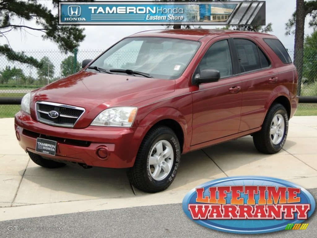 Eastern Shore Kia 2006 Radiant Red Kia Sorento Lx 51614058 Gtcarlot Car