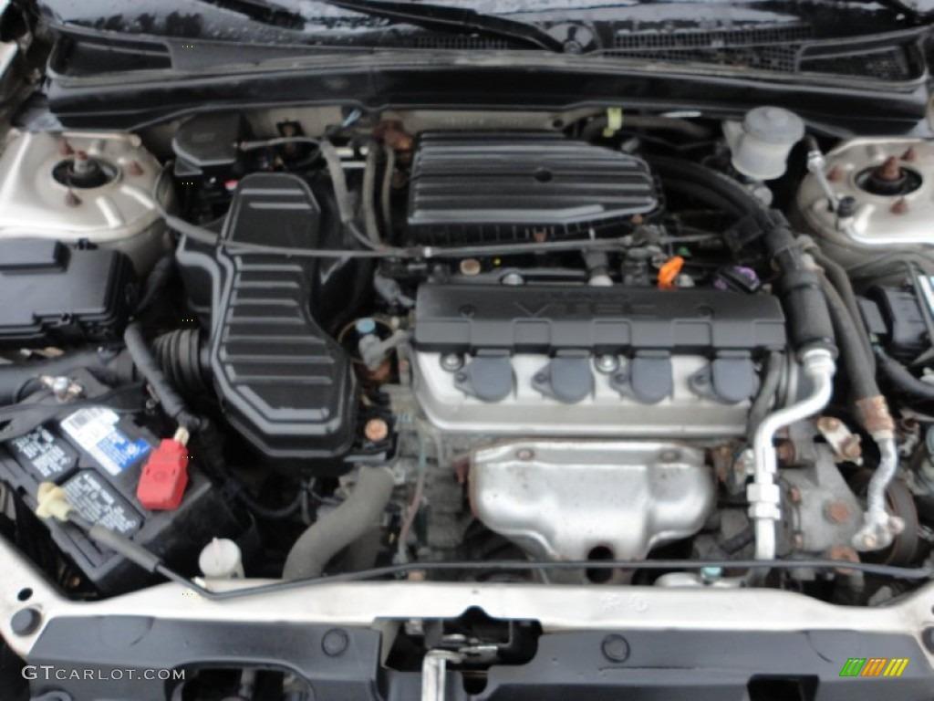 For Home Entertainment System Wiring Diagram 2001 Honda Civic Ex Sedan 1 7l Sohc 16v 4 Cylinder Engine