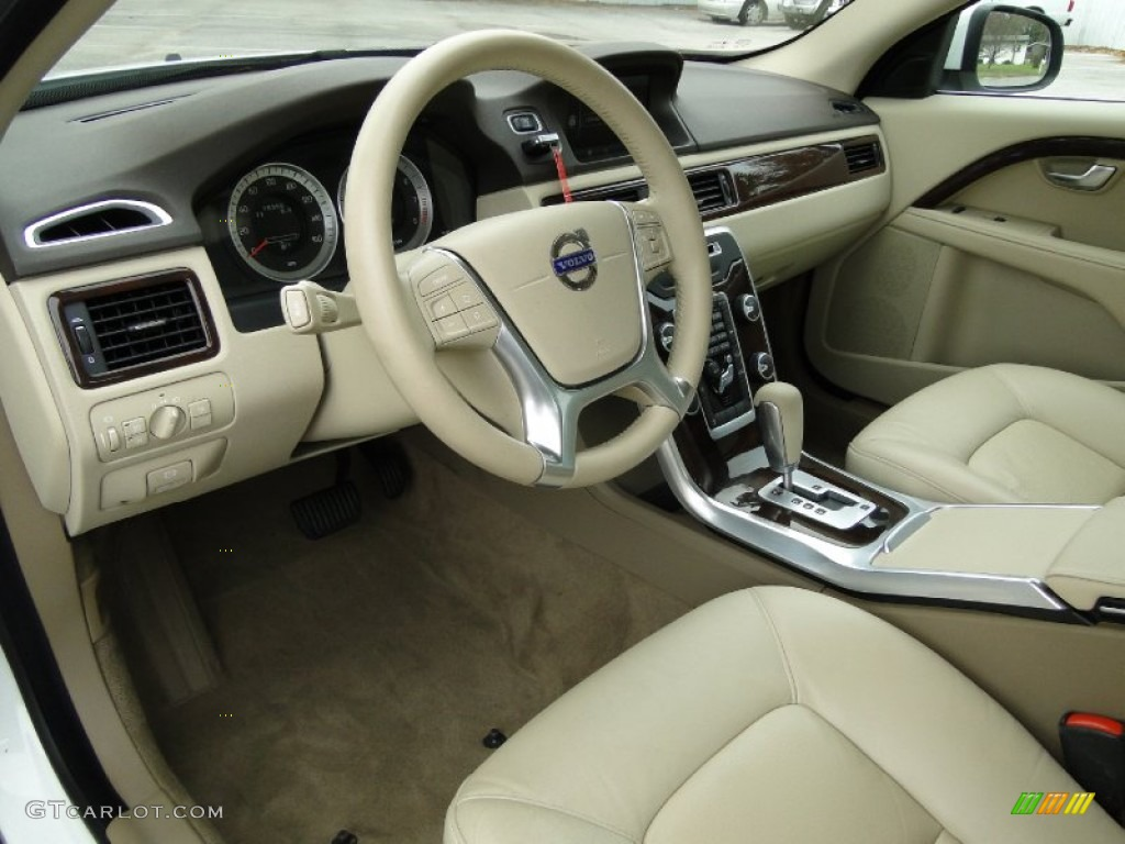 Volvo S80 Interieur Sandstone Beige Interior 2012 Volvo S80 3.2 Photo