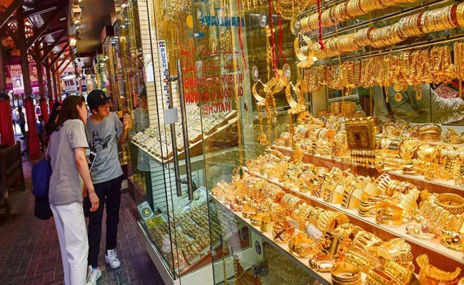 Gold Prices Touch New High In The Uae At Dh153 75 For 24k
