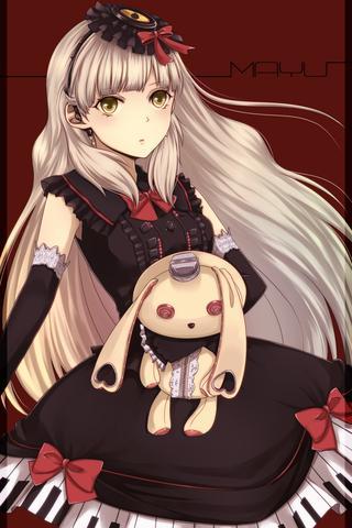 Goth Girl Wallpaper Aus Welchen Manga Anime Stammt Die Figur Charakter