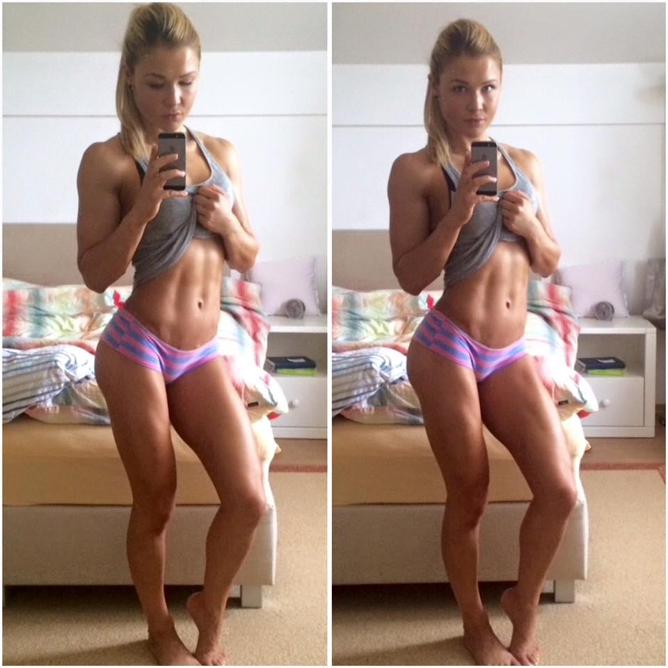 Nacher Wallpaper Girl Gut Gebauten K 246 Rper Bekommen Training Muskeln