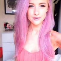 Haare pink farben ohne blondieren  Moderne mnnliche und ...