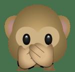 Whats App Emoji Monkey