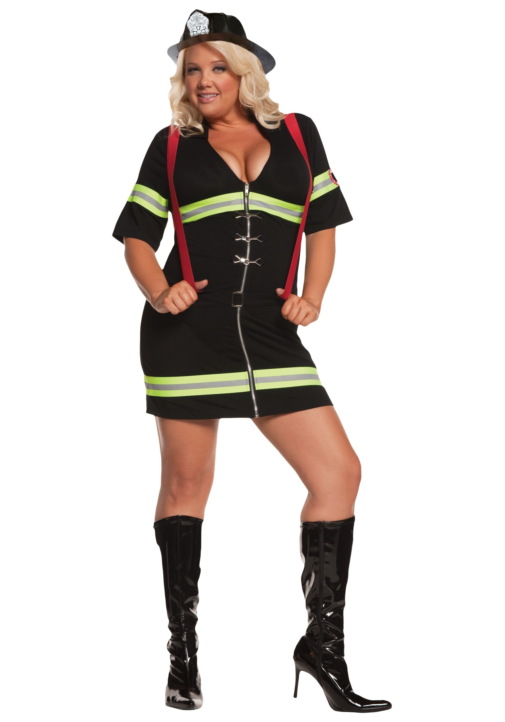 Big W Photo Sizes Plus Size Hot Firegirl Costume Womens Sexy Firefighter