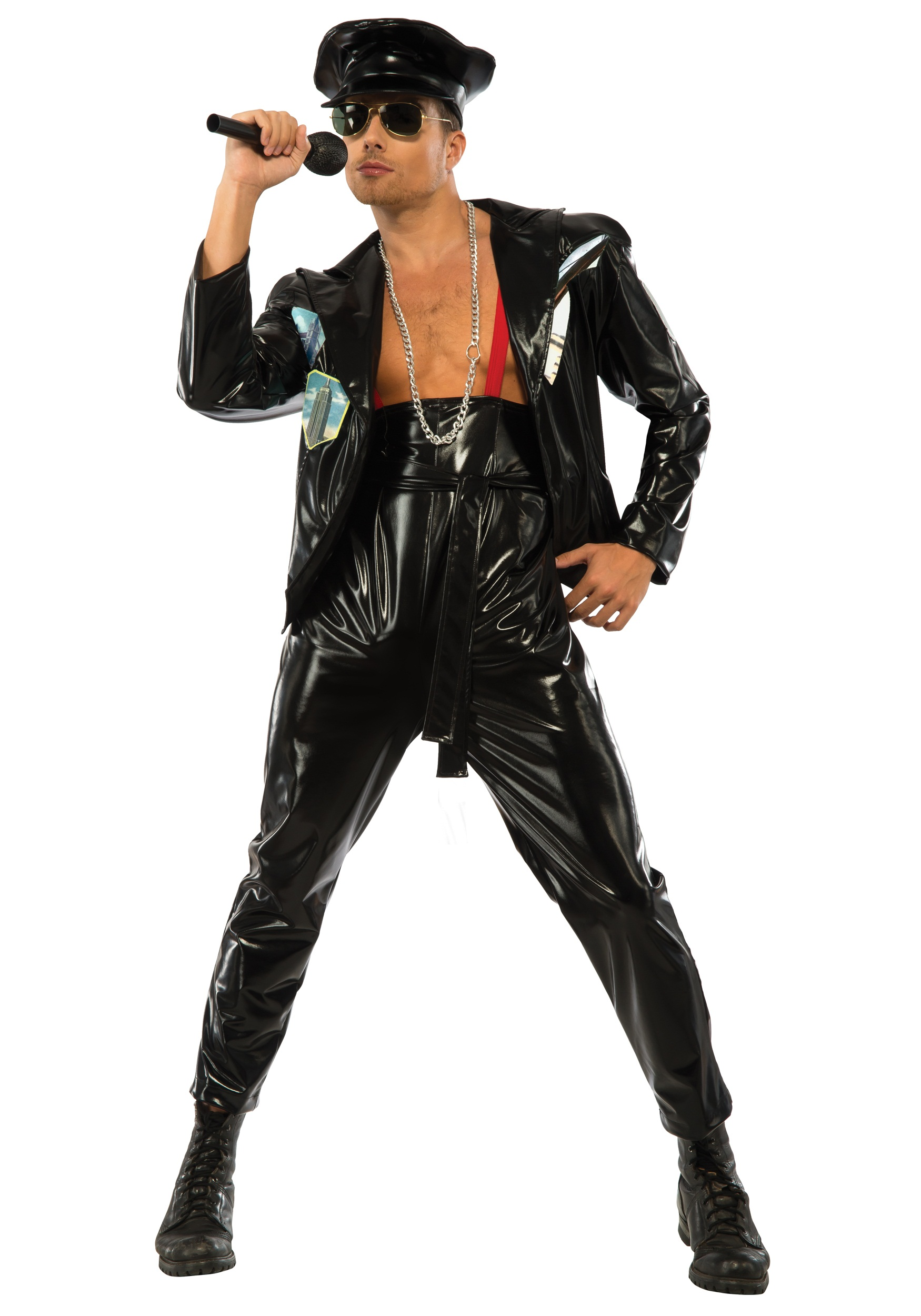 80er Party Outfit Herren Freddy Mercury Costume