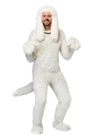 Shaggy Sheep Dog Costume for Adults