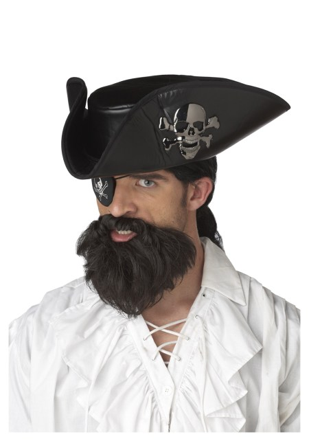 Black Mustache Pirate