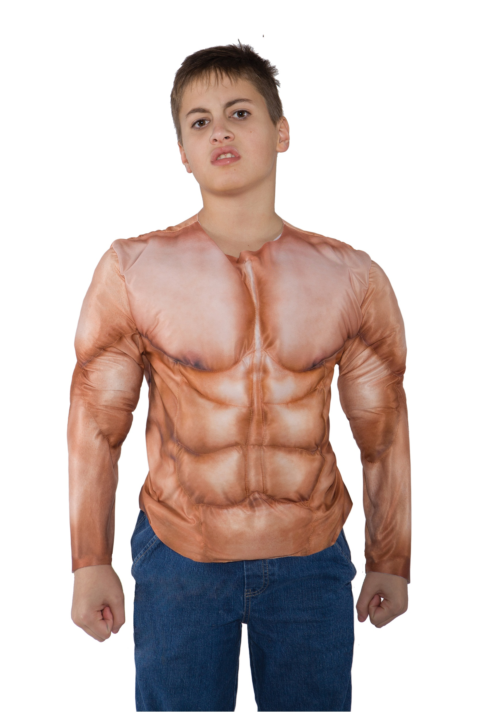 Muscle Shirt Kid S Padded Muscle Shirt