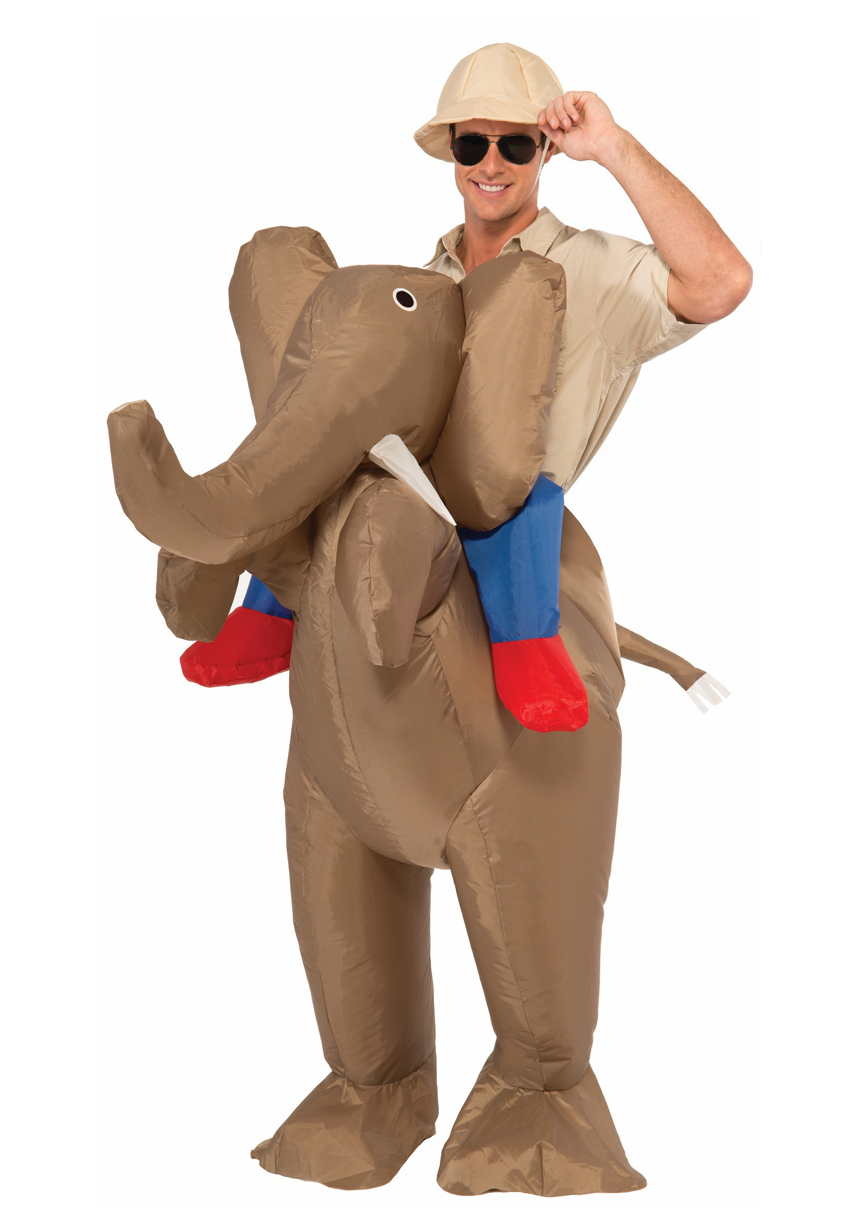 Outdoor inflatable halloween decorations - Outdoor Inflatable Halloween Decorations Adult Inflatable Ride An Elephant Costume Download