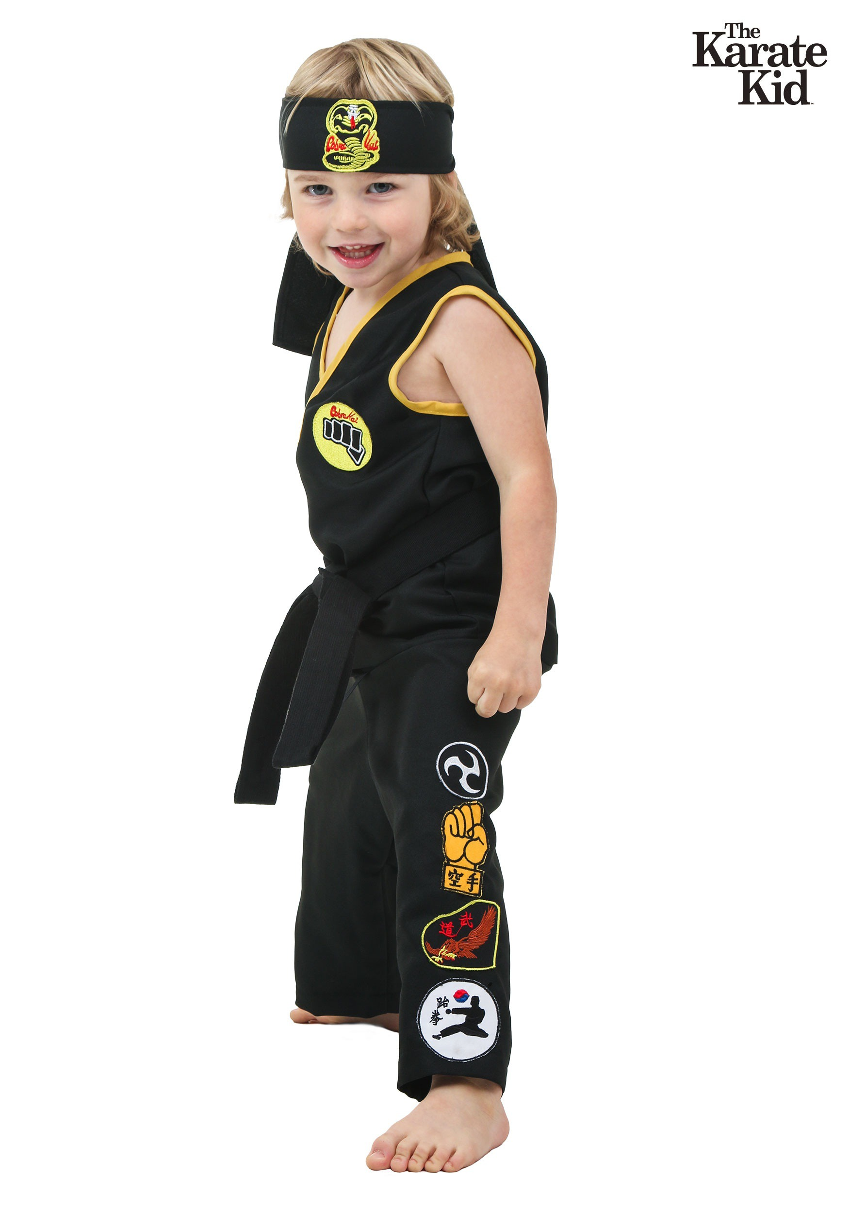 Baby Costumes Uk Toddler Cobra Kai Costume