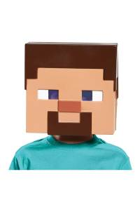 Minecraft Steve Vacuform Mask for Kids
