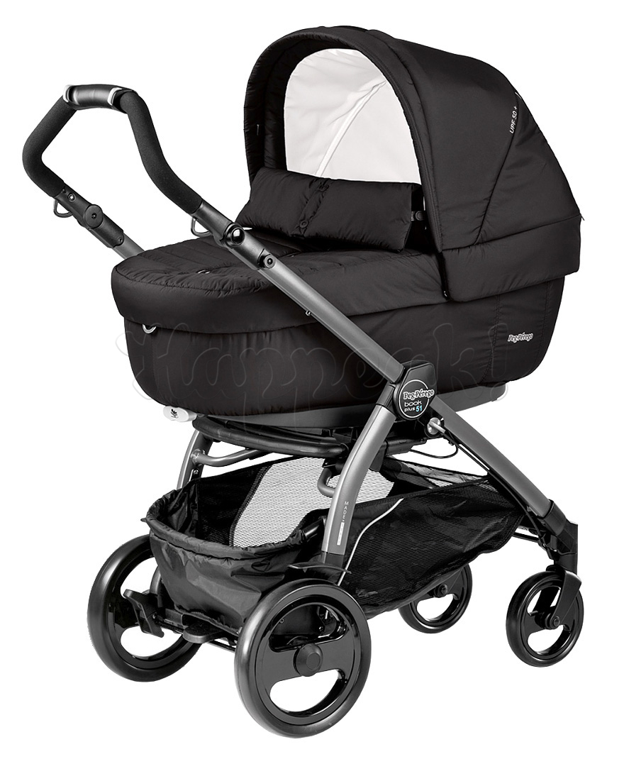 Peg Perego Book Plus 51 S Pop Up Коляска Peg Perego Book Plus 51 Jet Elite Pop Up Breeze Noir 3 В 1