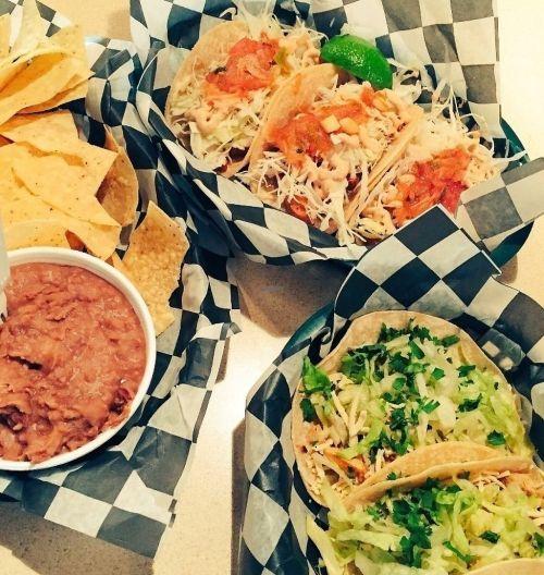 Enticing Refried Beansat Baja Grill Norfolk Virginia Restaurant Happycow California Ken Grill Number California Ken Grill Franchise Chips Vegan Ken Tacos Vegan Fish A Side