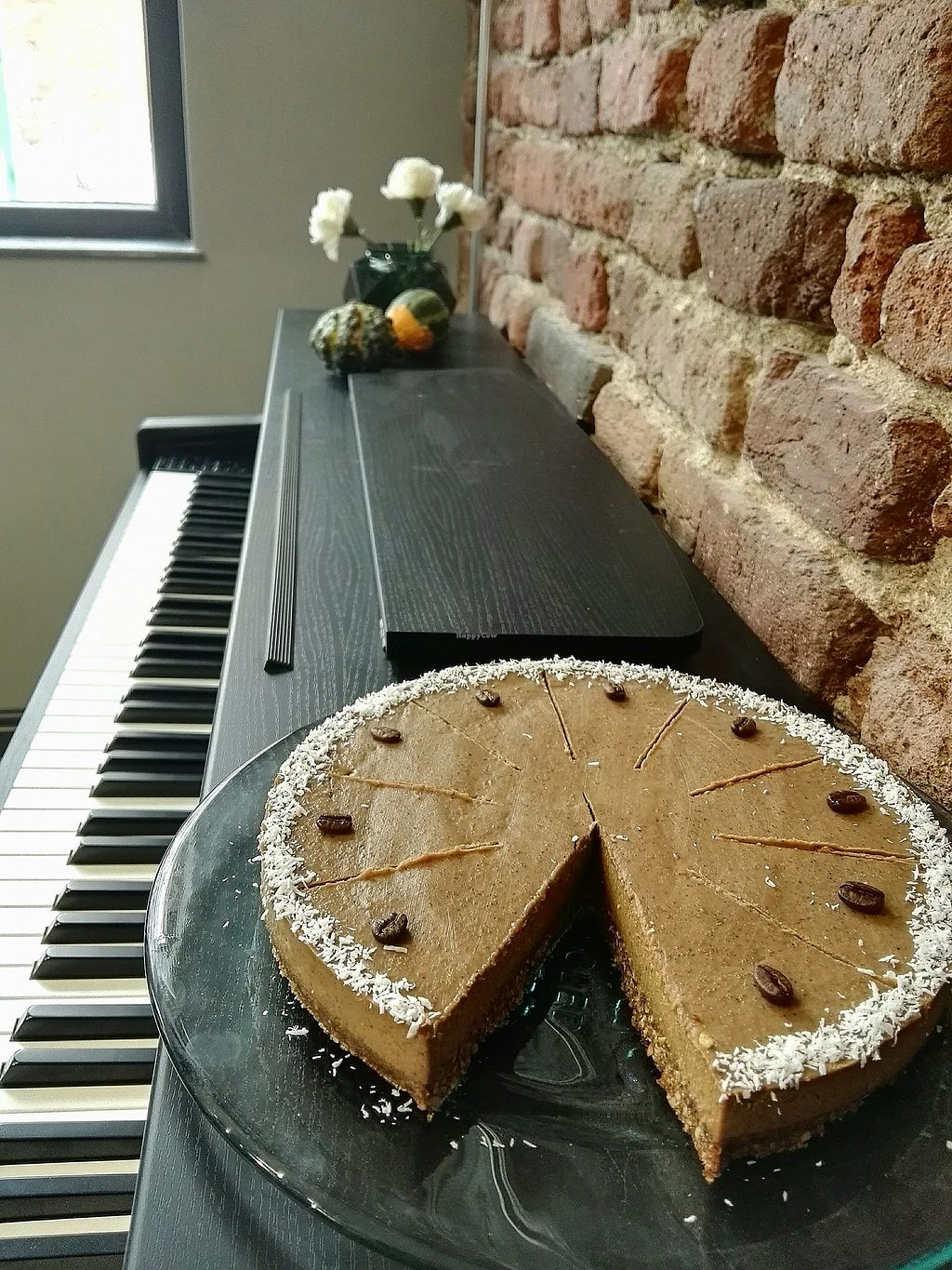 Keyboard Kuchen Salted Cafe Sofia Restaurant Happycow
