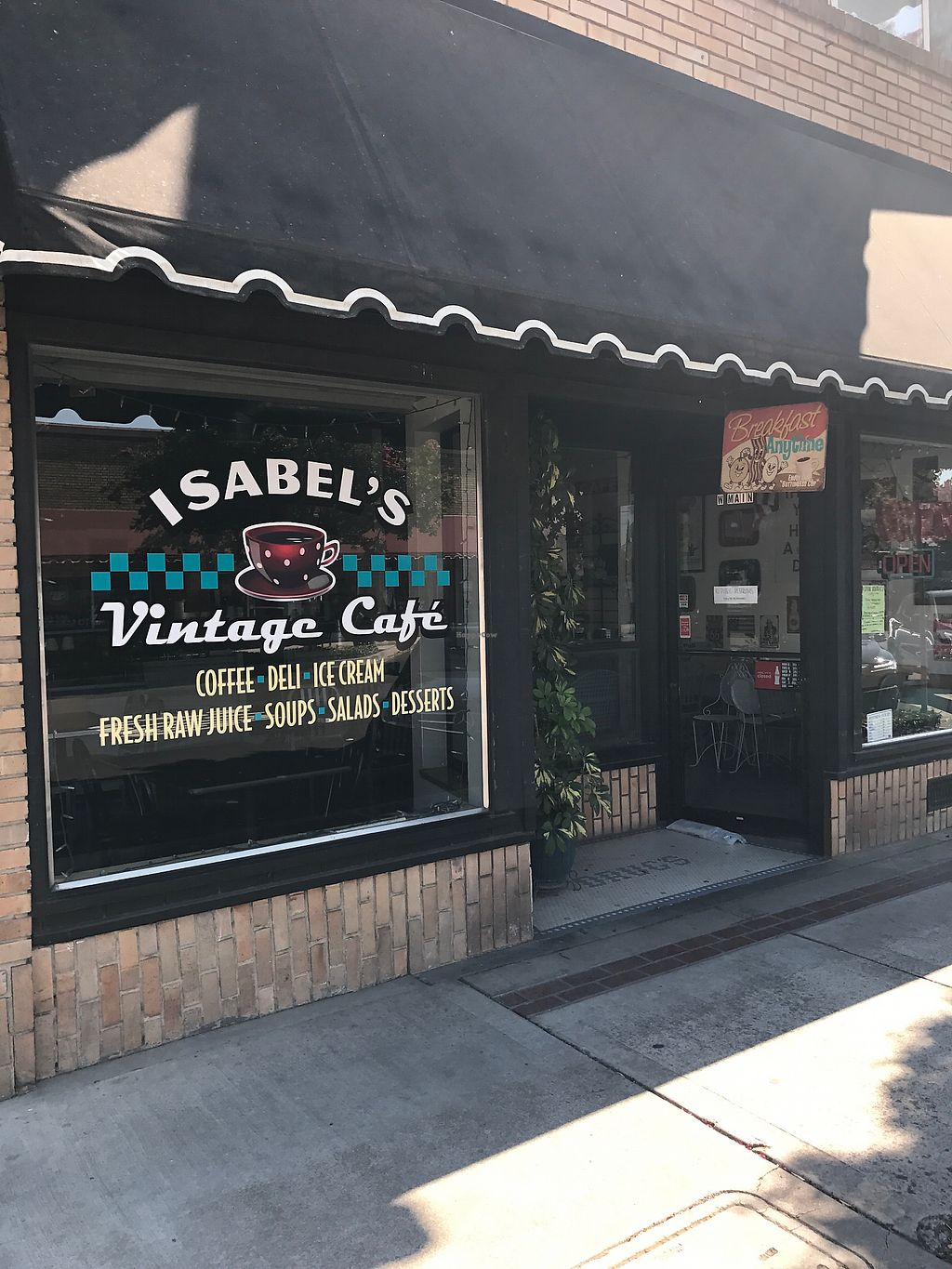 Vintage Café Isabel S Vintage Cafe Ripon California Restaurant Happycow