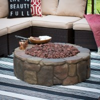 Red Ember 36 in. Clarksville Campfire Fire Pit with FREE