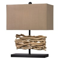Elk Lighting Natural Driftwood Table Lamp