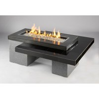 Outdoor GreatRoom Uptown Fire Pit Table - 80k BTUs - Fire ...