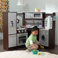 KidKraft Ultimate Corner Play Kitchen with Lights and ...