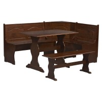Linon Chelsea Breakfast Corner Nook - Dining Table Sets at ...