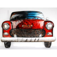 Classic Car Metal Wall Art