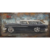 Moe's Home Classic Car Metal Wall Art