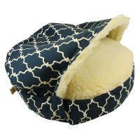 Snoozer Pool and Patio Orthopedic Luxury Cozy Cave Pet Bed ...