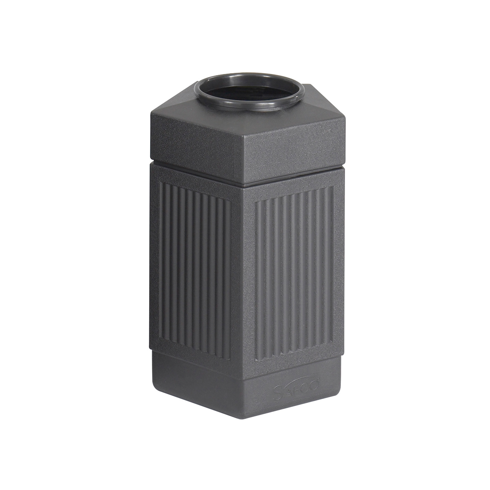 Indoor Garbage Cans Safco 30 Gallon Pentagon Canmeleon Indoor Outdoor