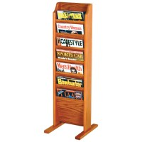 7 Pocket Floor Magazine Rack