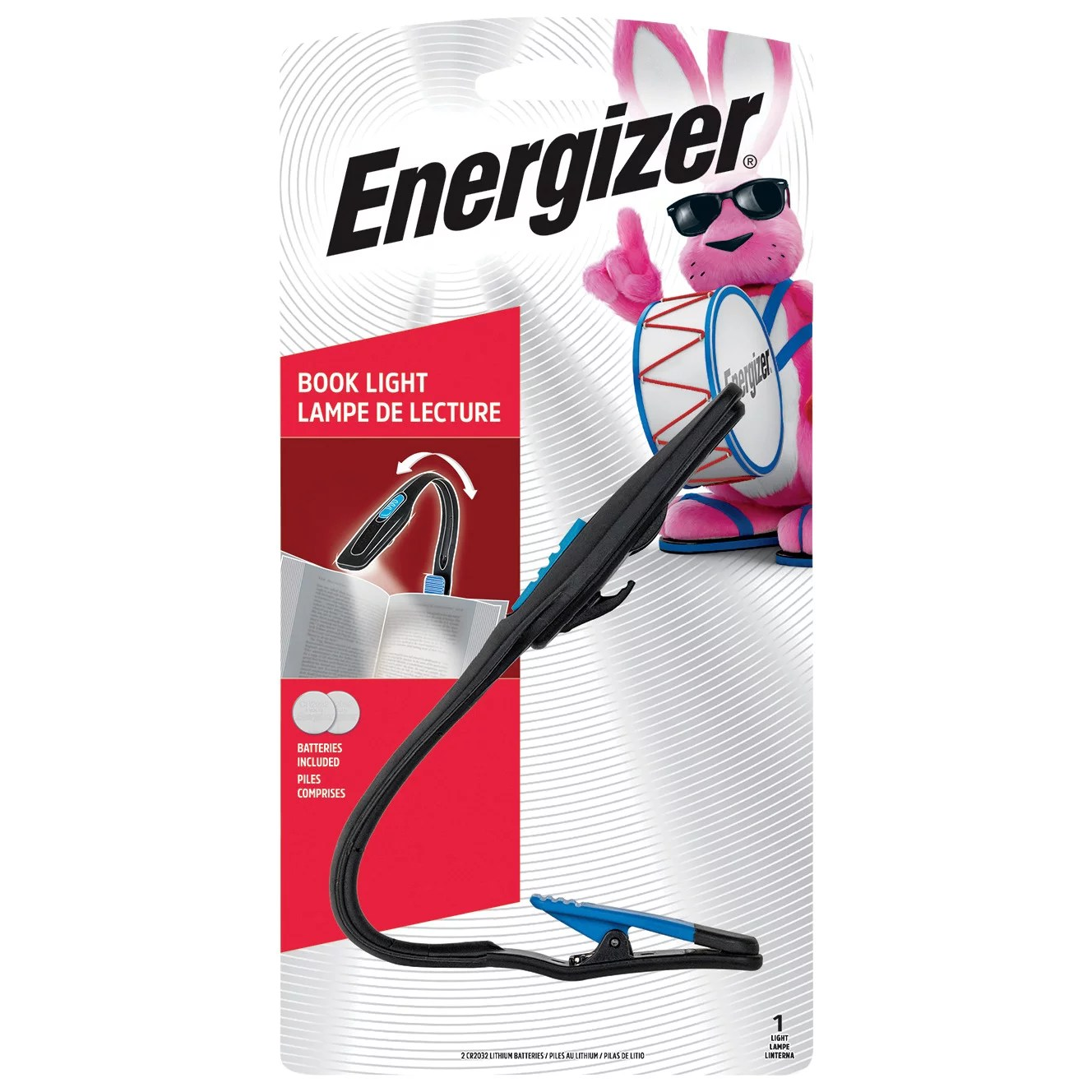 Energizer Led Flexible Clip Book Light Shop Lamps Lights At H E B