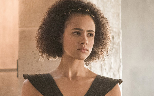 Wallpaper Happy Girl Missandei Just Showed Us How The Quot Game Of Thrones Quot Cast
