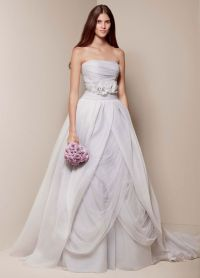 The #1 best-selling wedding dress at David's Bridal is a ...