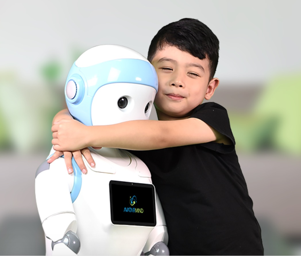 Children Robot In The Near Future Children May Be Cared For By Robot Nannies