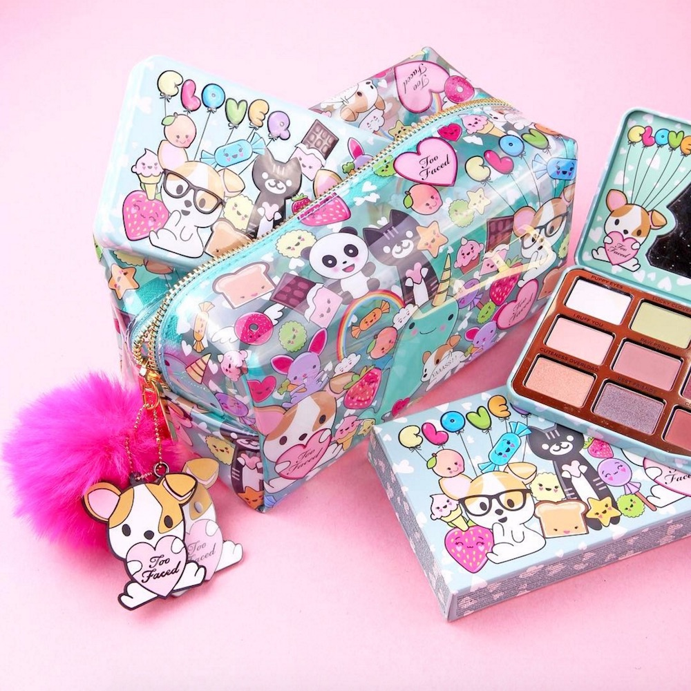 Cute Child Love Wallpaper Too Faced S Adorable Animal Inspired Makeup Bag Will Make
