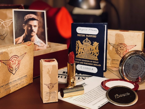 Lipstick Color Is Red The Besame Cosmetics X Agent Carter Collection Couldn 39;t Be