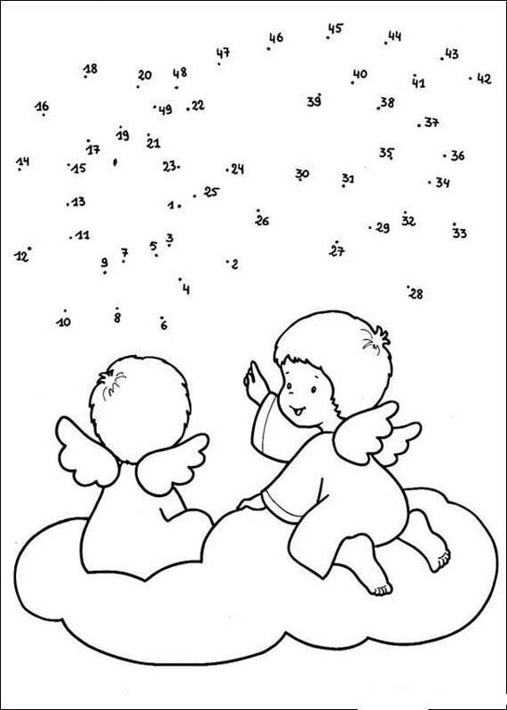 Christmas dot to dot - 24 free dot to dot printable worksheets for kids