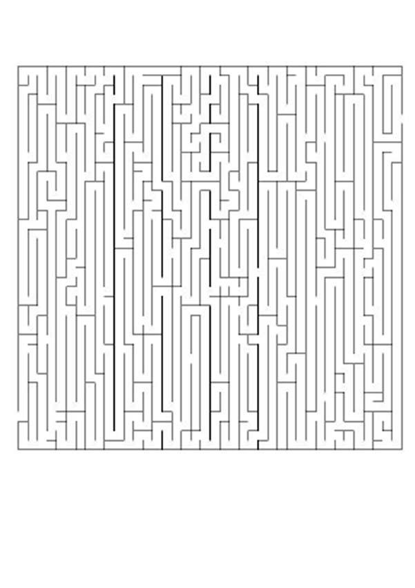 DIFFICULT printable mazes - 11 fun online mazes to print and play