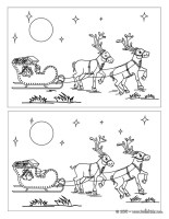 Free Printable Christmas Spot The Difference