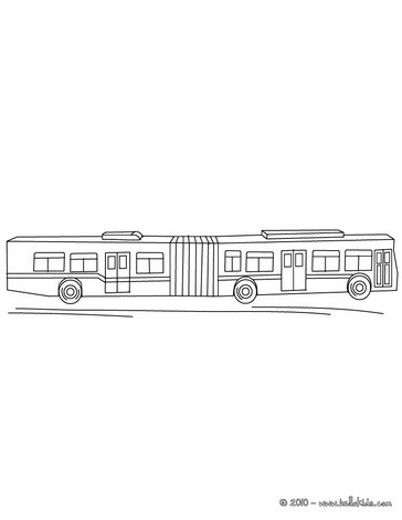 BUS coloring pages - Coloring pages - Printable Coloring Pages