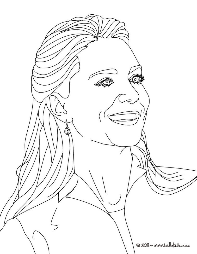Beautiful kate middleton kate coloring page coloring page famous people coloring pages kate and william coloring